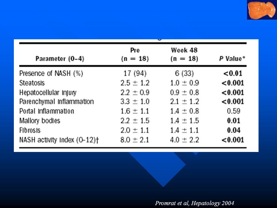 Promrat et al, Hepatology 2004