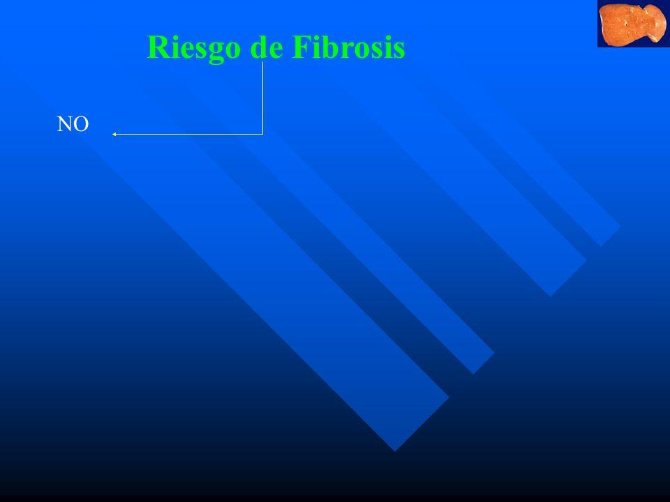 Riesgo de Fibrosis NO