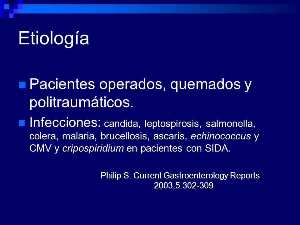 Philip S. Current Gastroenterology Reports 2003,5: