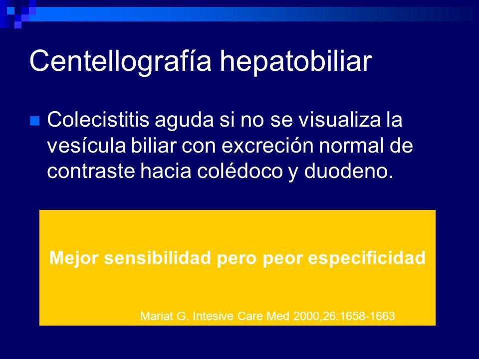 Centellografía hepatobiliar