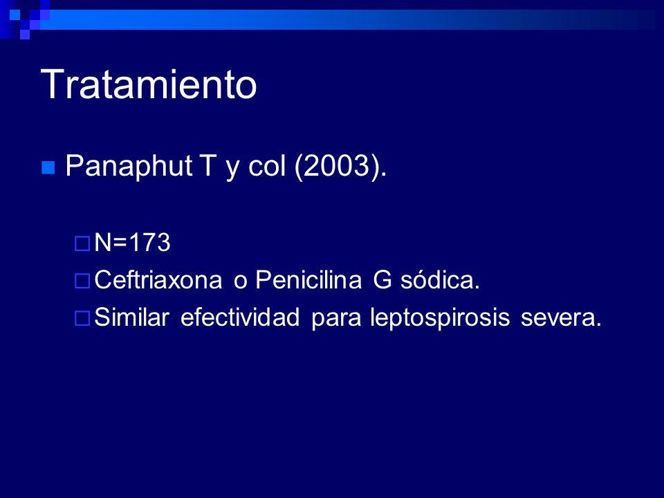 Tratamiento Panaphut T y col (2003). N=173