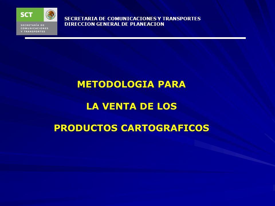 PRODUCTOS CARTOGRAFICOS