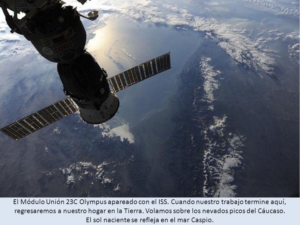 El Módulo Unión 23C Olympus apareado con el ISS