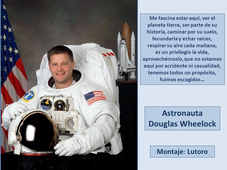 Astronauta Douglas Wheelock