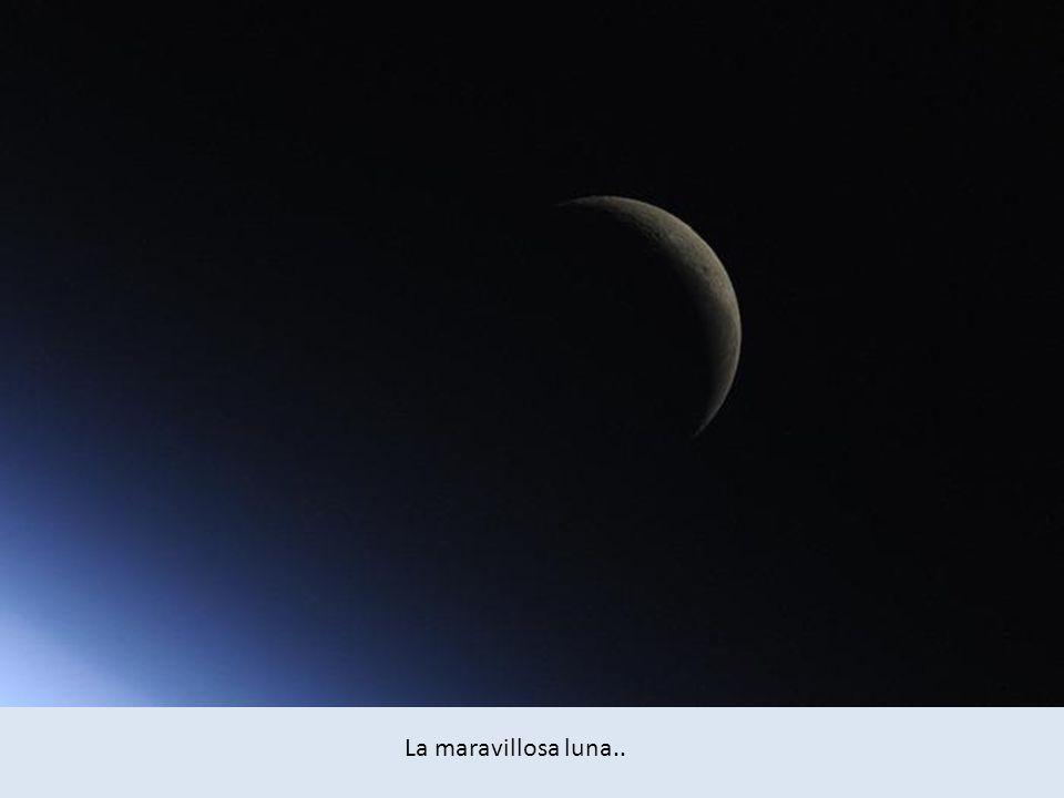 La maravillosa luna..