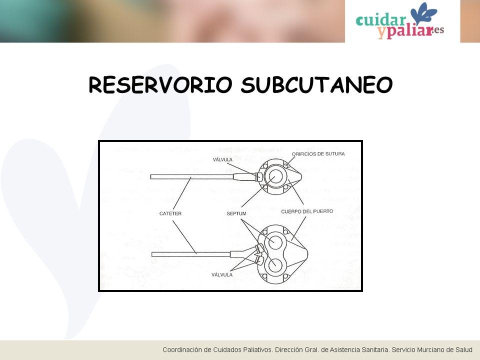 RESERVORIO SUBCUTANEO