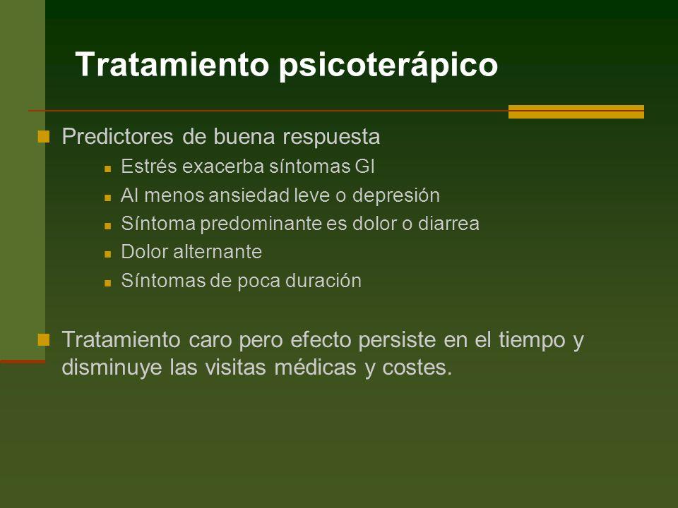 Tratamiento psicoterápico