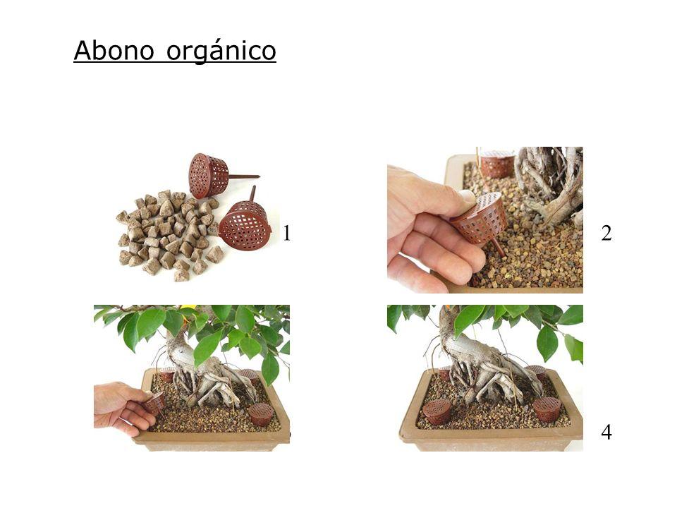 Abono orgánico 1. 2.