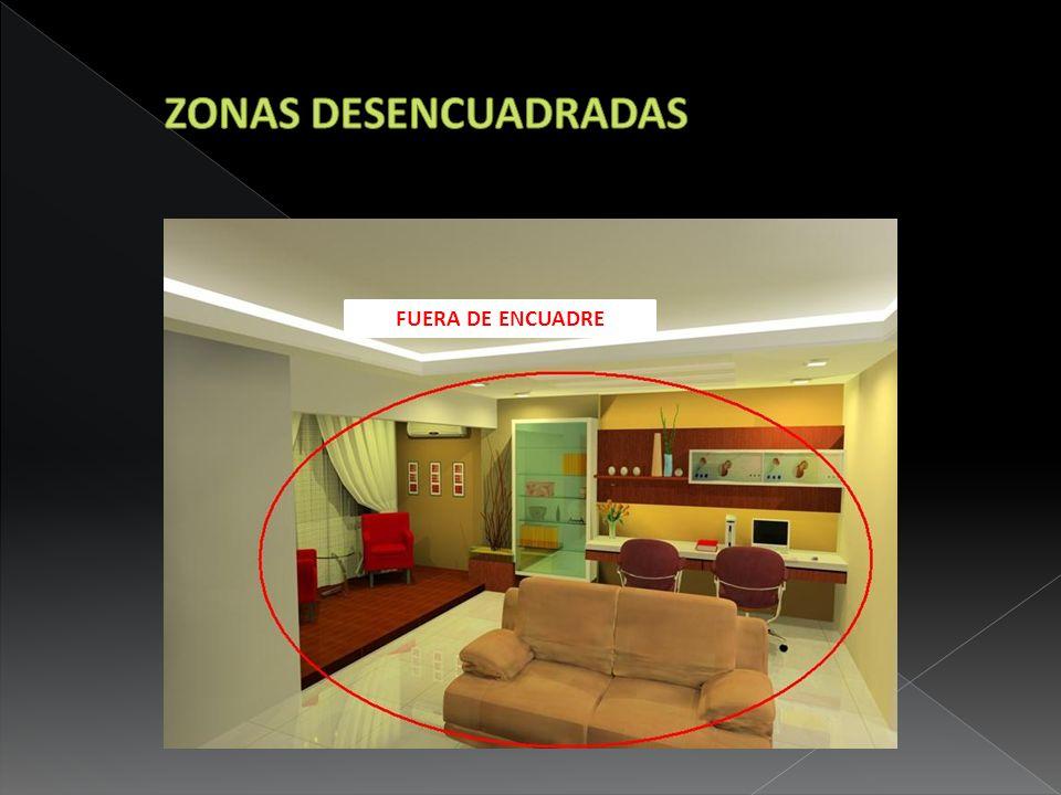 ZONAS DESENCUADRADAS FUERA DE ENCUADRE