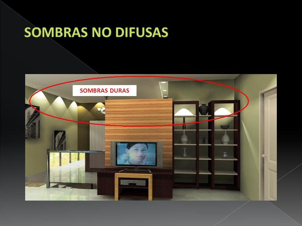 SOMBRAS NO DIFUSAS SOMBRAS DURAS