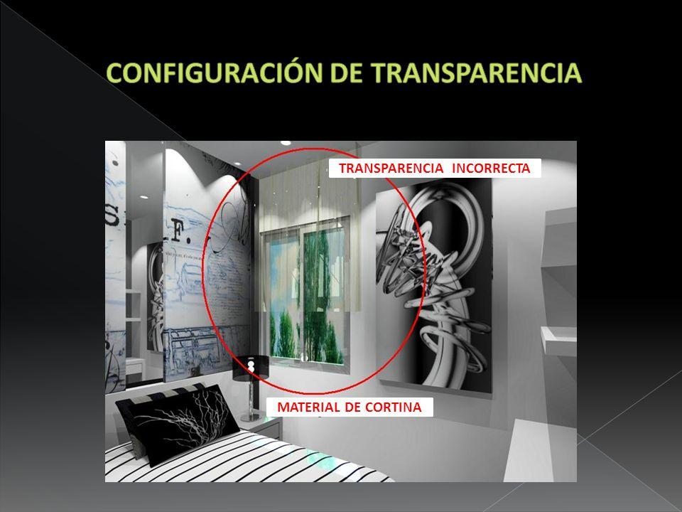 CONFIGURACIÓN DE TRANSPARENCIA