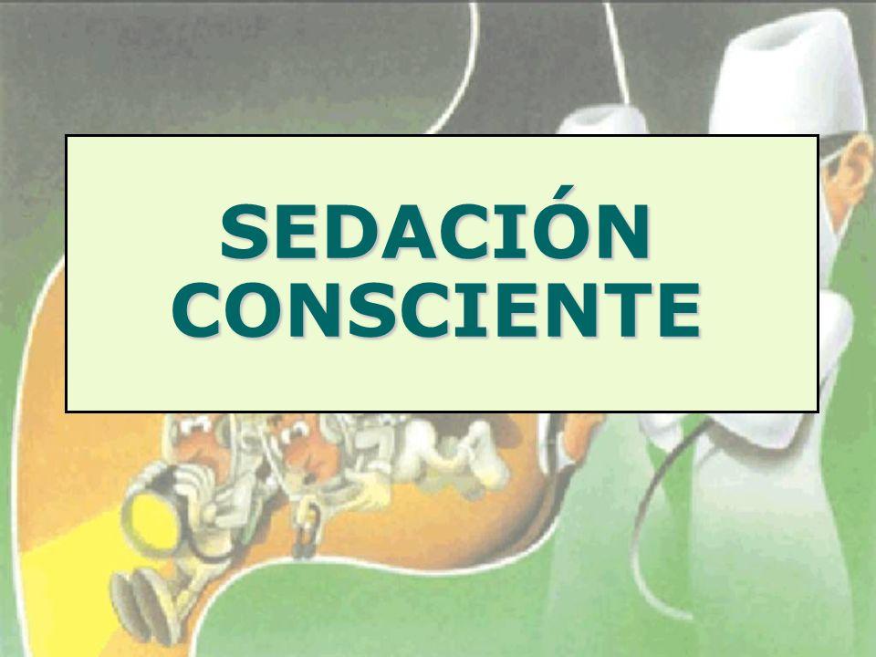 SEDACIÓN CONSCIENTE