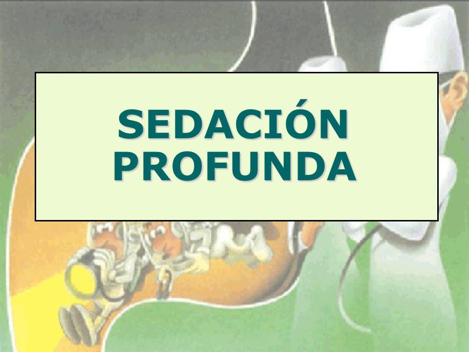 SEDACIÓN PROFUNDA