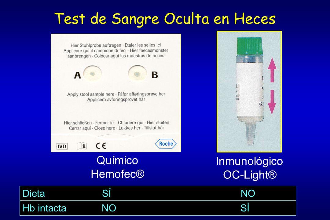 Test de Sangre Oculta en Heces