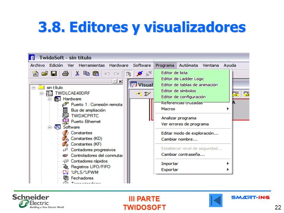 3.8. Editores y visualizadores