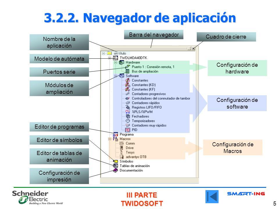 3.2.2. Navegador de aplicación