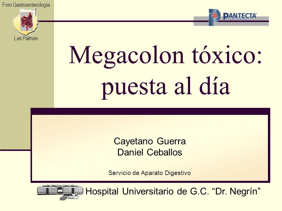 Megacolon tóxico: puesta al día