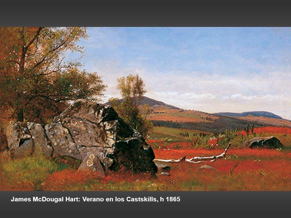James McDougal Hart: Verano en los Castskills, h 1865