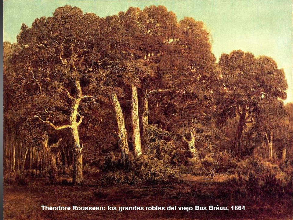 Theodore Rousseau: los grandes robles del viejo Bas Bréau, 1864