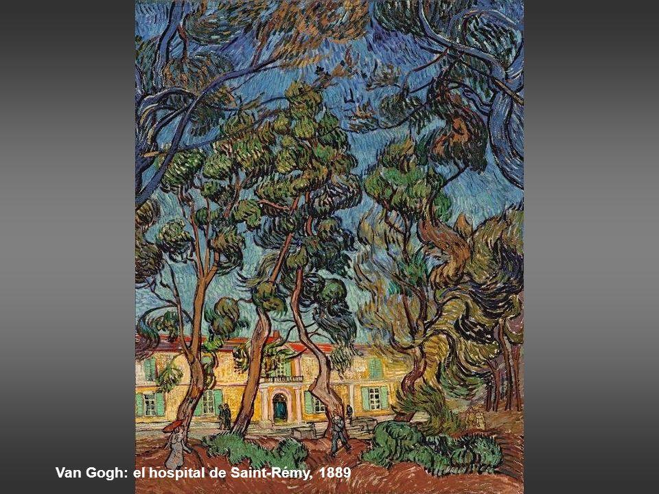 Van Gogh: el hospital de Saint-Rémy, 1889