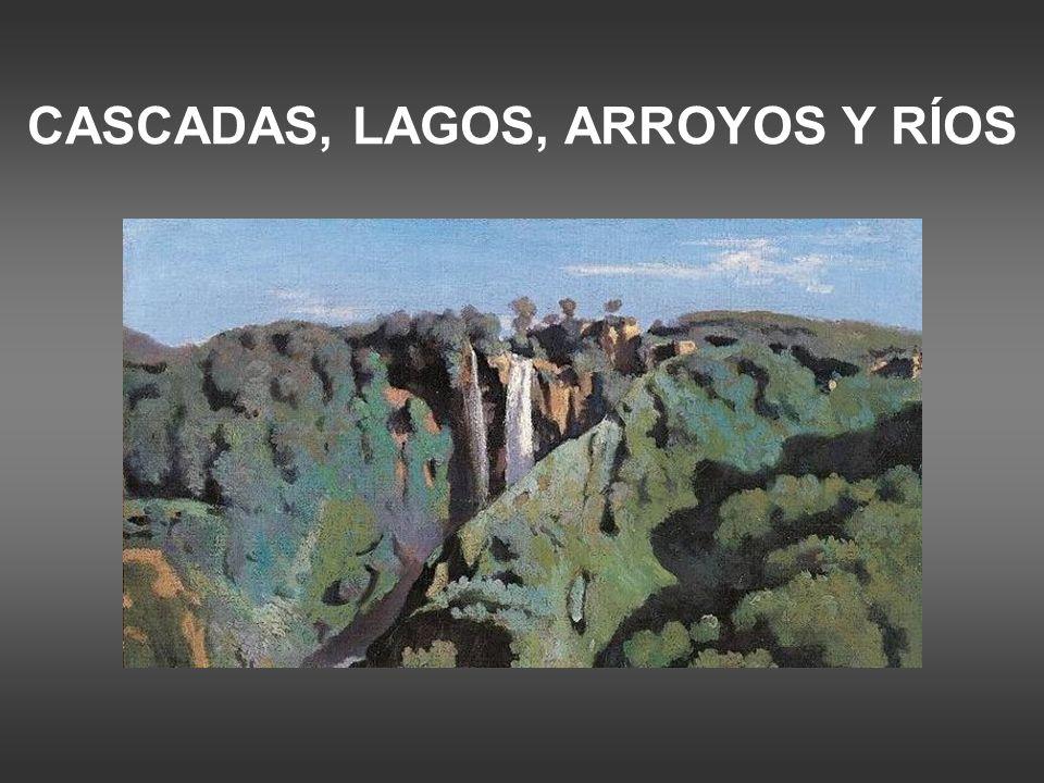 CASCADAS, LAGOS, ARROYOS Y RÍOS