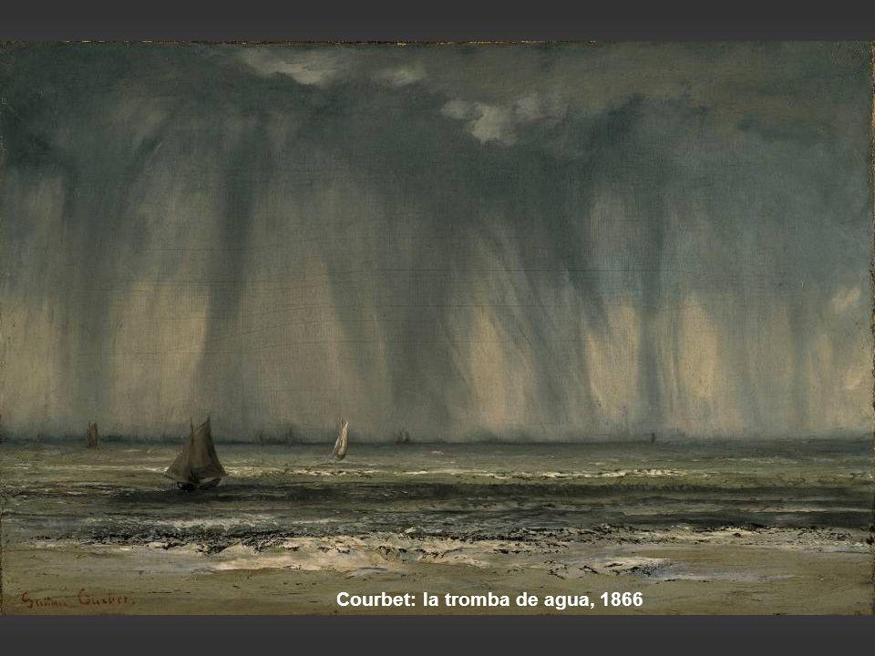 Courbet: la tromba de agua, 1866