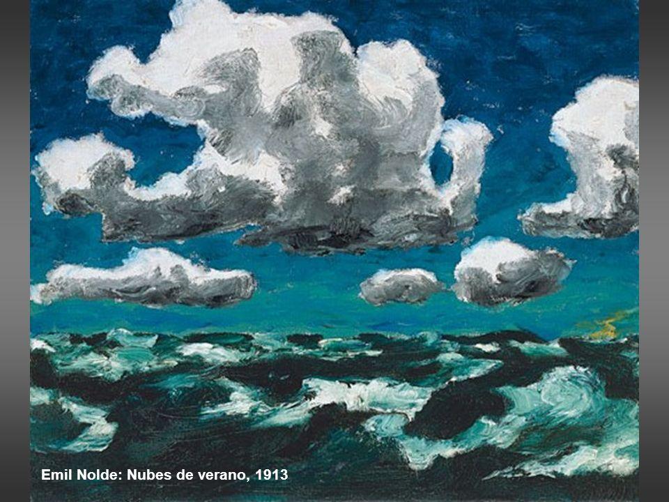 Emil Nolde: Nubes de verano, 1913