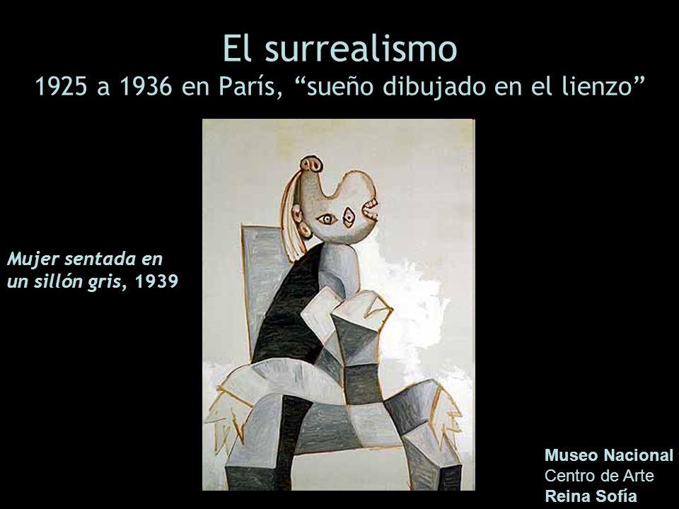 El surrealismo 1925 a 1936 en París, sueño dibujado en el lienzo