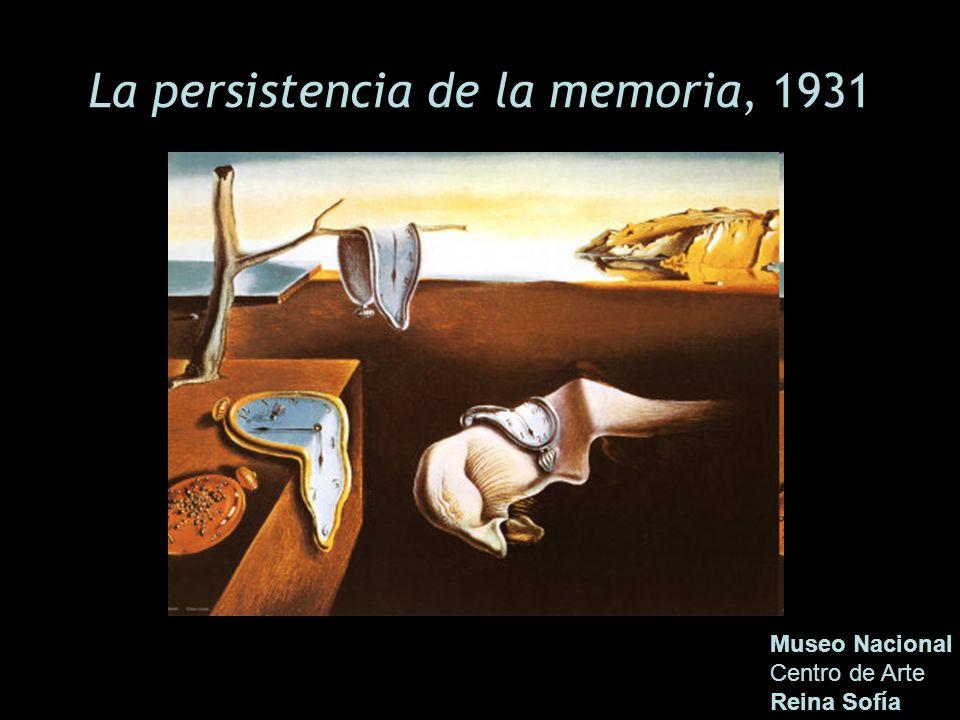 La persistencia de la memoria, 1931
