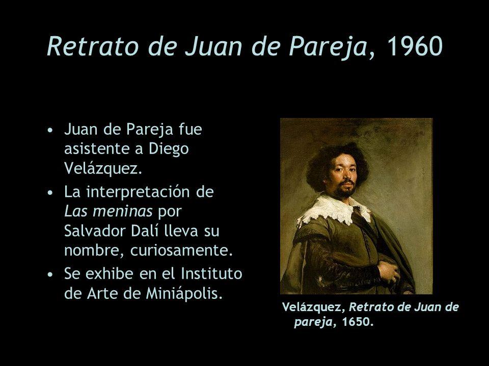 Retrato de Juan de Pareja, 1960