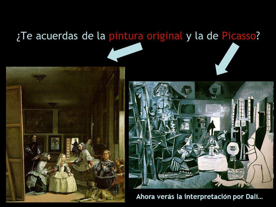 ¿Te acuerdas de la pintura original y la de Picasso