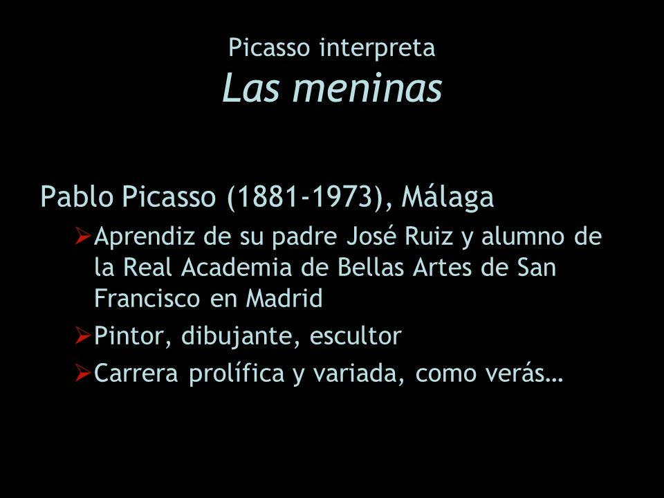 Picasso interpreta Las meninas