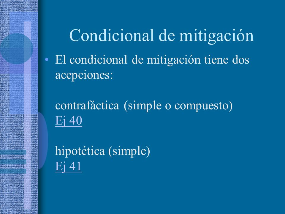 Condicional de mitigación
