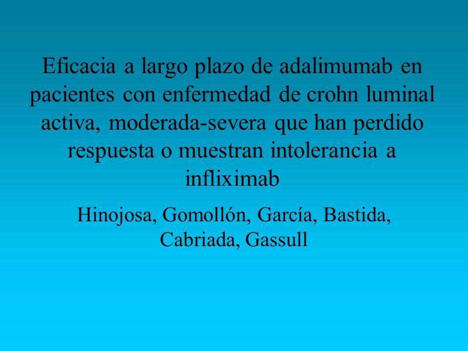 Hinojosa, Gomollón, García, Bastida, Cabriada, Gassull