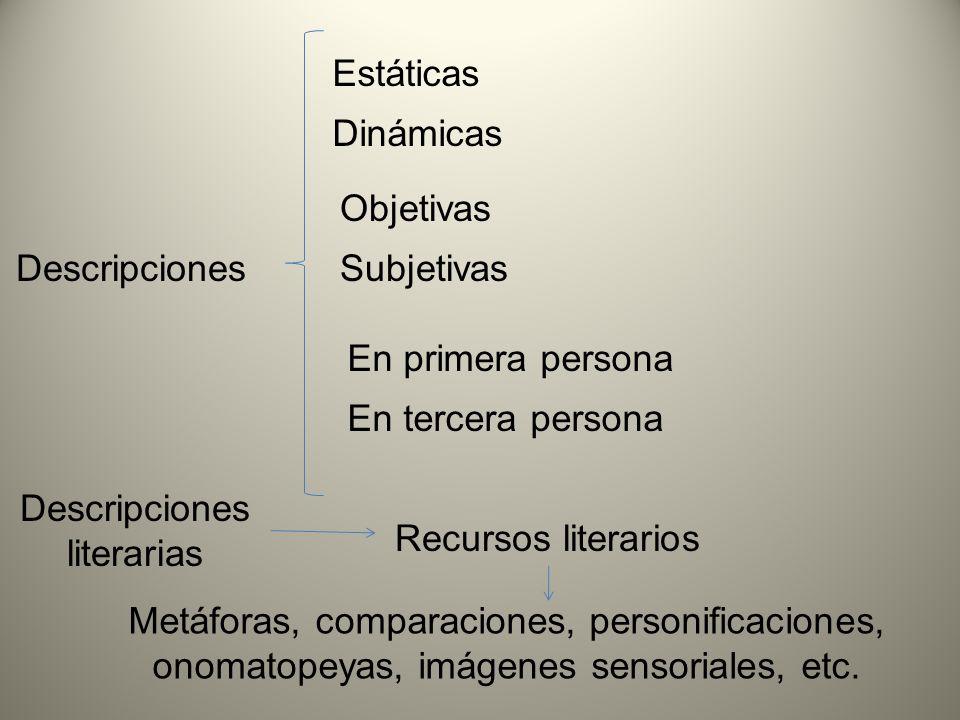 Descripciones literarias