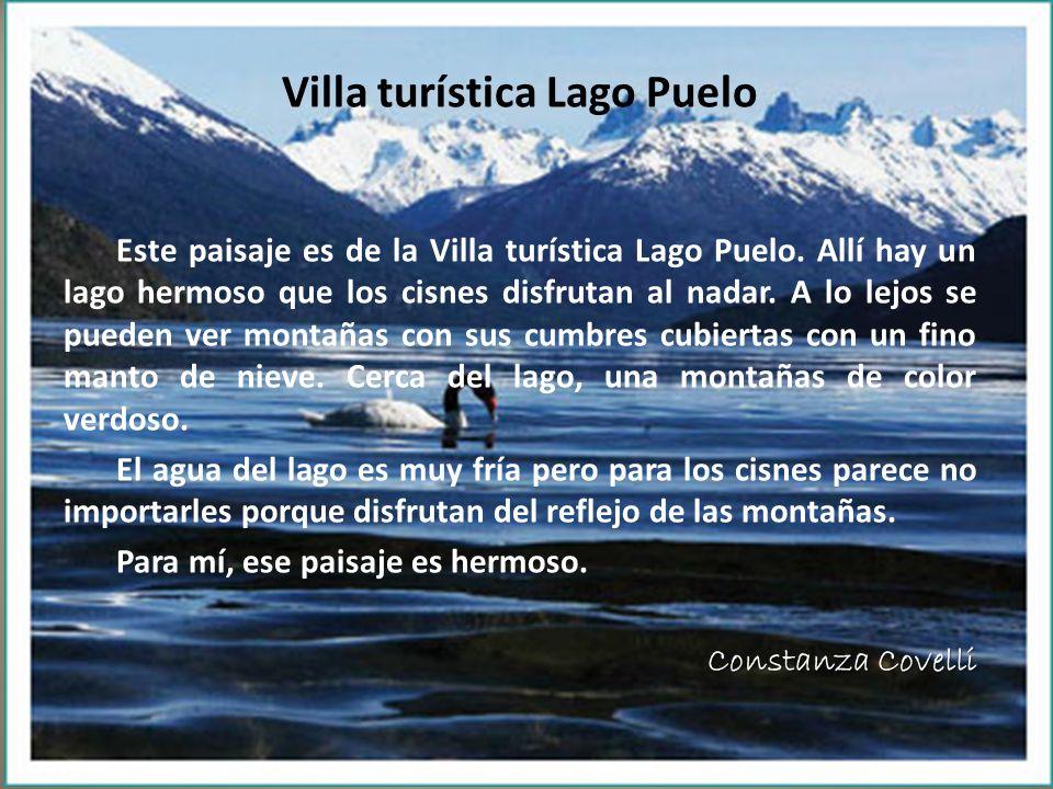 Villa turística Lago Puelo