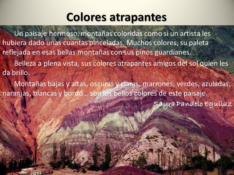 Colores atrapantes