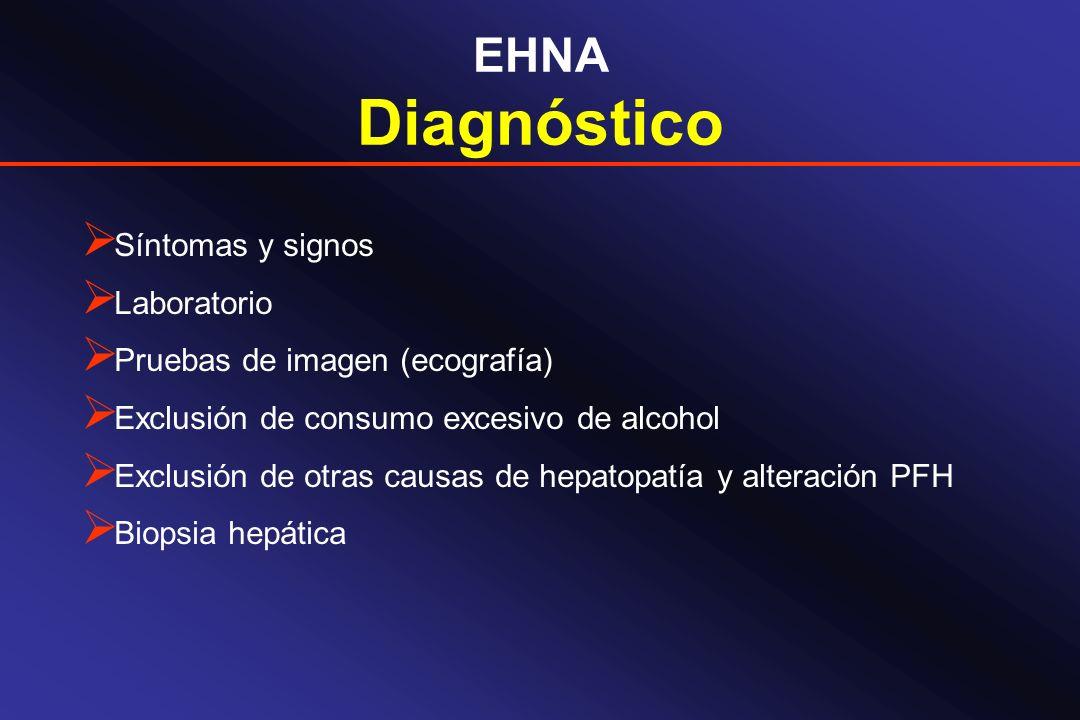 Diagnóstico EHNA Síntomas y signos Laboratorio