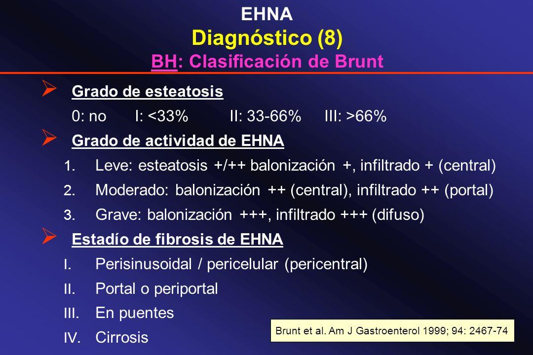 BH: Clasificación de Brunt