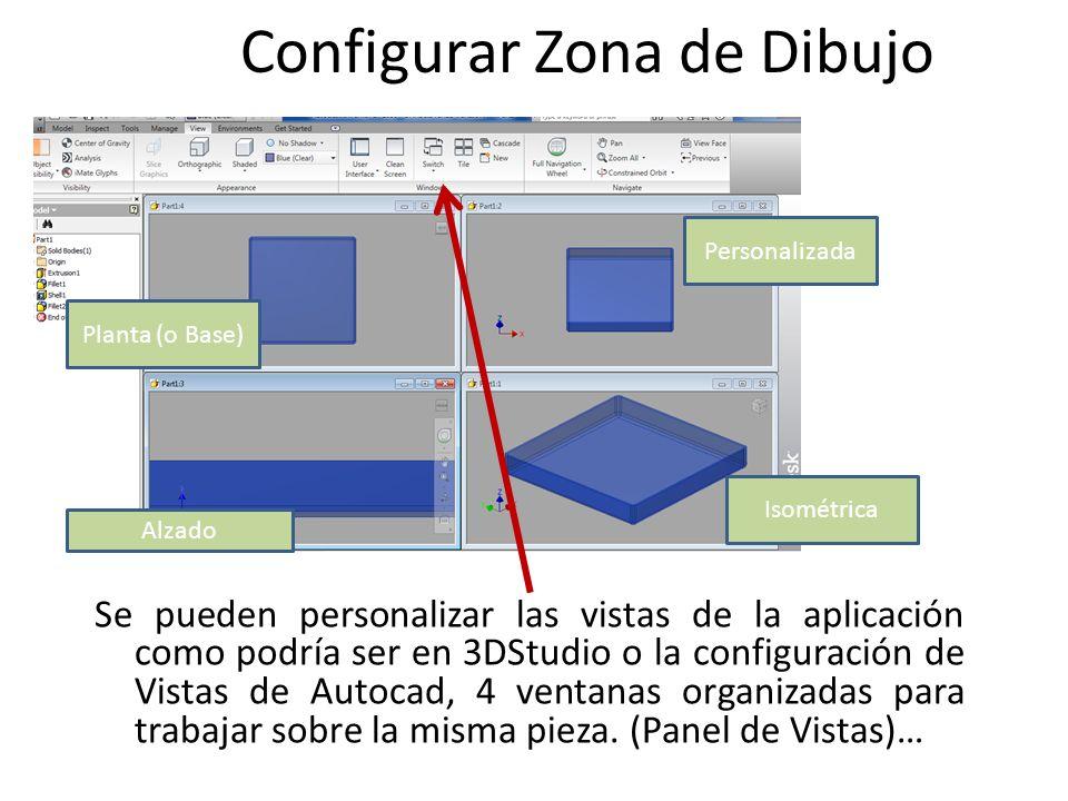 Configurar Zona de Dibujo