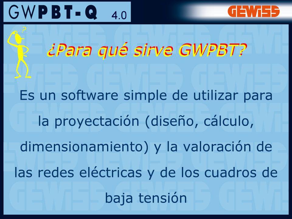 ¿Para qué sirve GWPBT