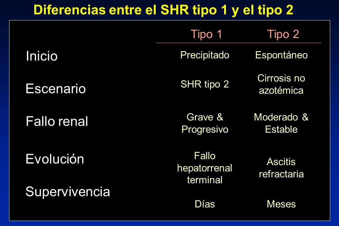 Diferencias entre el SHR tipo 1 y el tipo 2