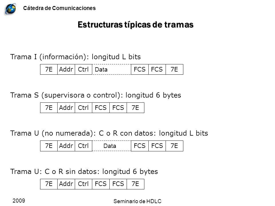 Estructuras típicas de tramas