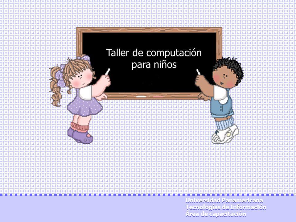 Taller de computación para niños