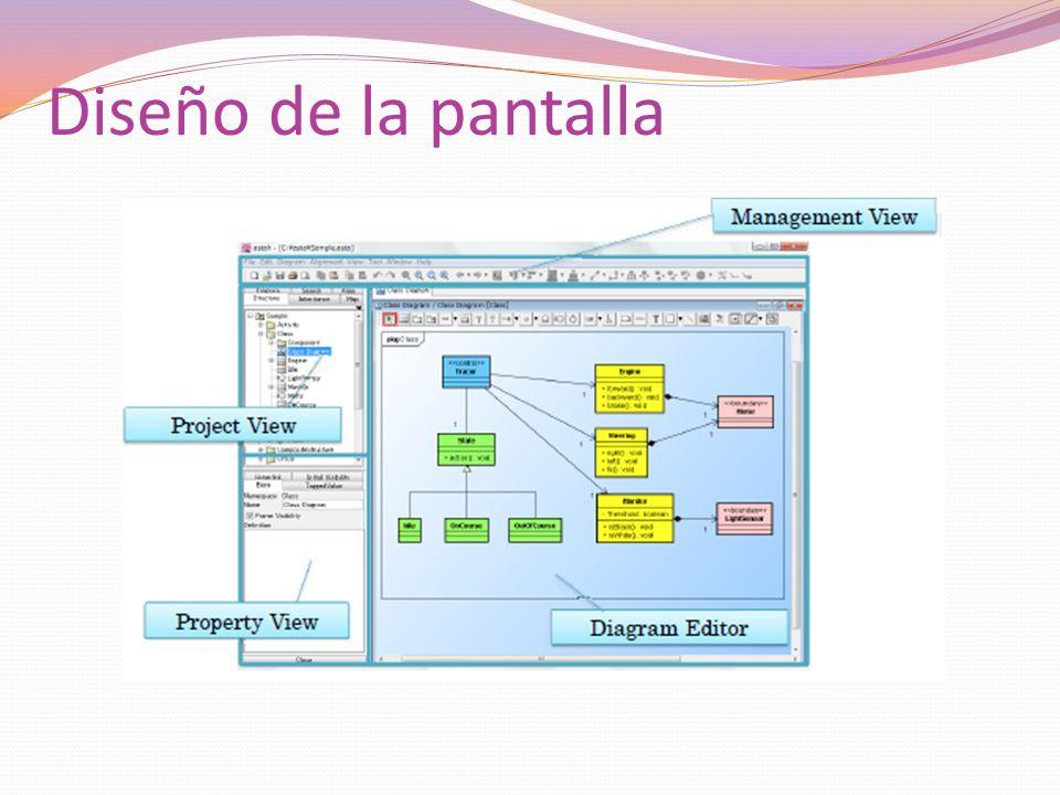 Diseño de la pantalla