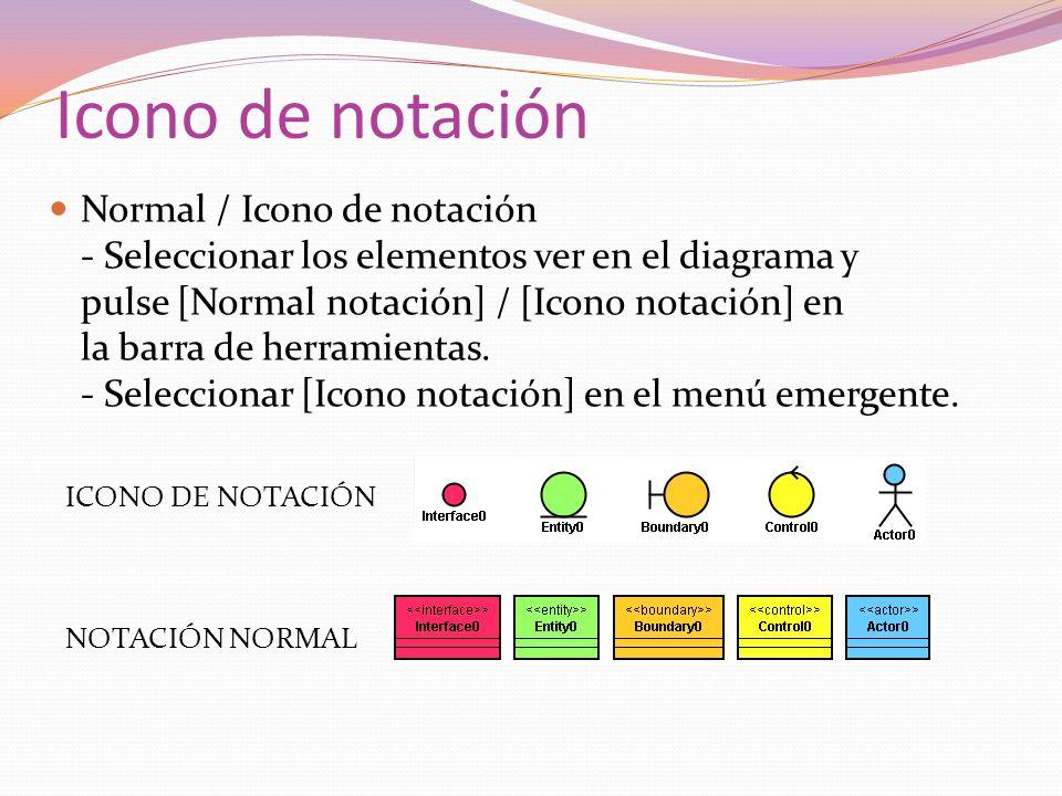 Icono de notación