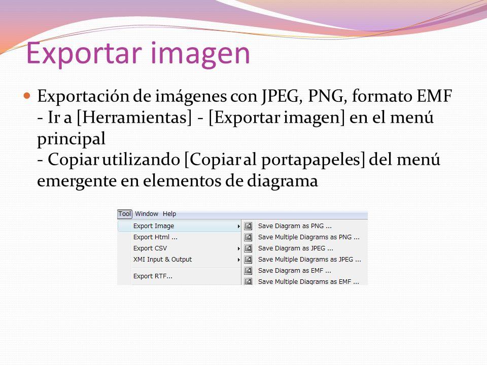 Exportar imagen