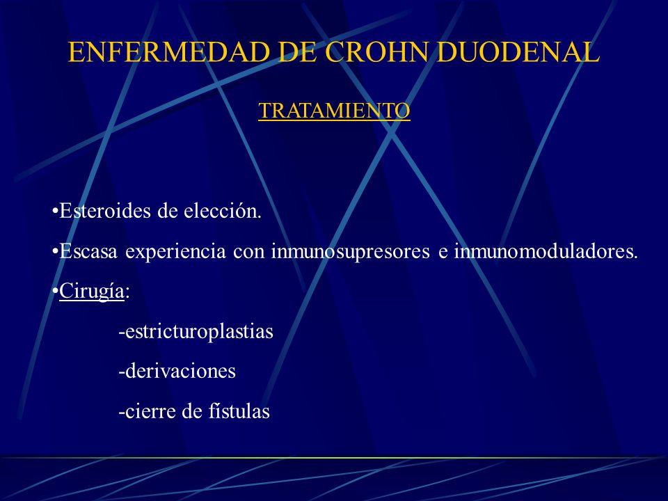 ENFERMEDAD DE CROHN DUODENAL