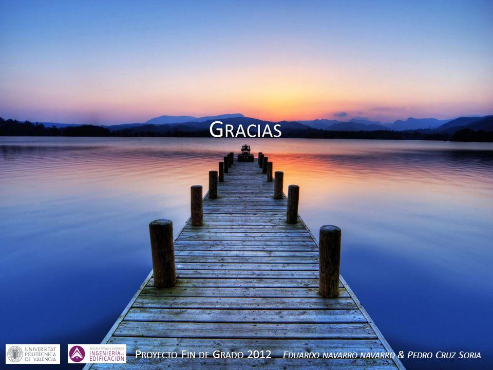 Gracias Proyecto Fin de Grado 2012 Eduardo navarro navarro & Pedro Cruz Soria