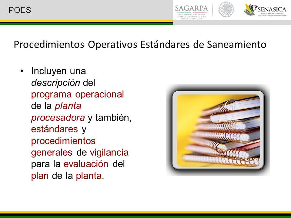 Procedimientos Operativos Estándares de Saneamiento